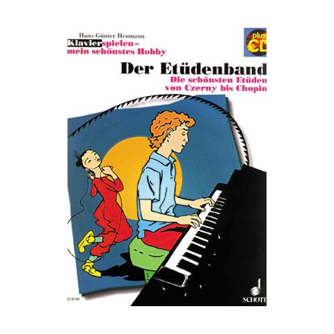 Notenbuch Schott Klavierspielen - mein schönstes Hobby Der Etüdenband