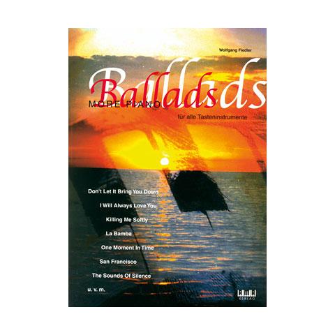 Libros didácticos AMA More Piano Ballads