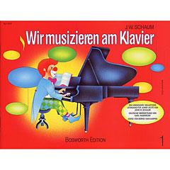 Bosworth Wir musizieren am Klavier Bd.1 « Manuel pédagogique