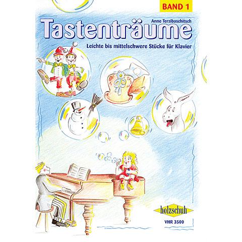 Libro de partituras Holzschuh Tastenträume Bd.1