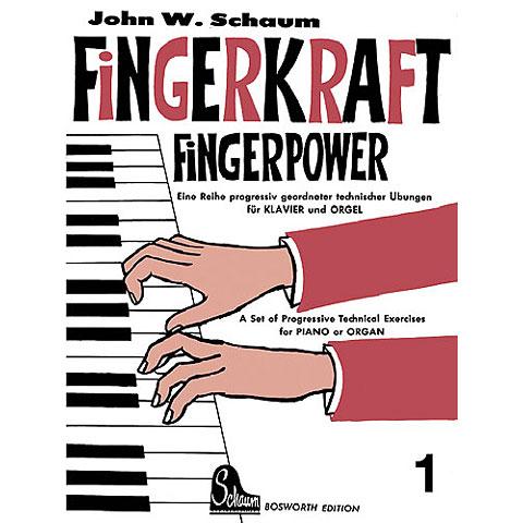 Libros didácticos Bosworth Fingerkraft 1