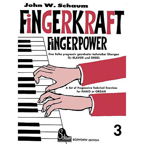 Libros didácticos Bosworth Fingerkraft 3