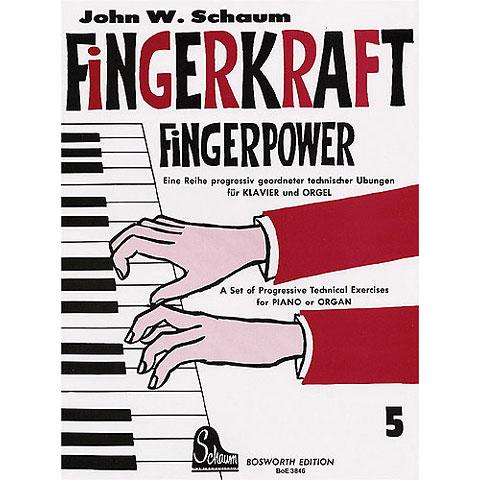 Lehrbuch Bosworth Fingerkraft 5