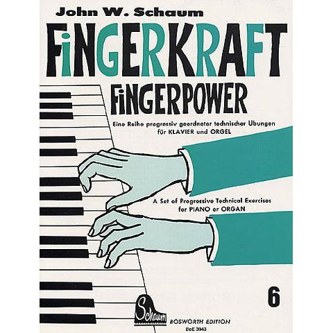 Libros didácticos Bosworth Fingerkraft 6