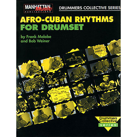 Instructional Book Alfred KDM Afro-Cuban Rhythms for Drumset