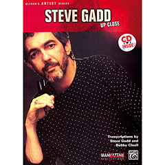 Warner Steve Gadd - Up Close « Instructional Book