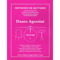 Agostini Methode de Batterie Vol.1 - Solfege Batterie « Instructional Book
