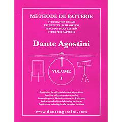 Dante Agostini Methode de Batterie Vol. 1 - Solfege Batterie « Libros didácticos
