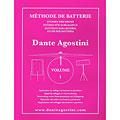 Lektionsböcker Agostini Methode de Batterie Vol.1 - Solfege Batterie