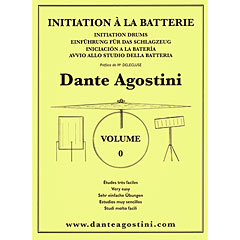 Agostini Methode de Batterie Vol.0 - Initiation « Instructional Book