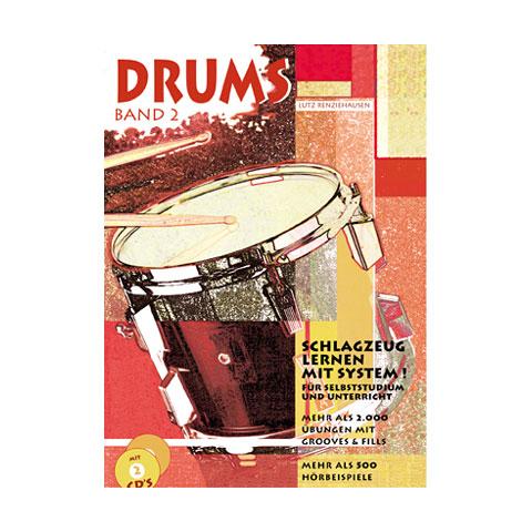 Libros didácticos Gerig Drums Band 2