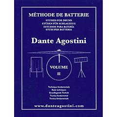 Dante Agostini Methode de Batterie Vol. 2 - Technique Fondamentale « Libros didácticos