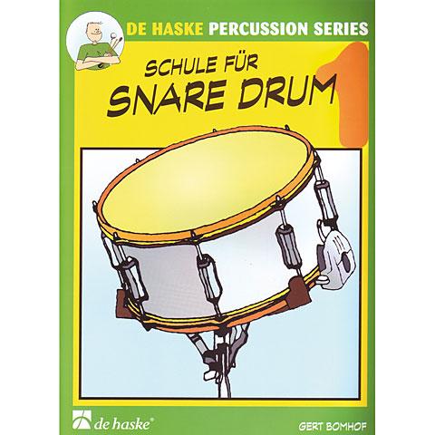 Manuel pédagogique De Haske Schule für Snare Drum 1