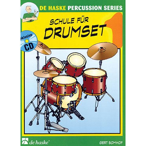 Lehrbuch De Haske Schule für Drumset Bd.1