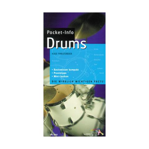 Libros guia Schott Pocket-Info Drums