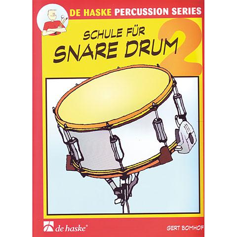 Libros didácticos De Haske Schule für Snare Drum 2