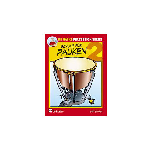 Libros didácticos De Haske Schule für Pauken Bd. 2