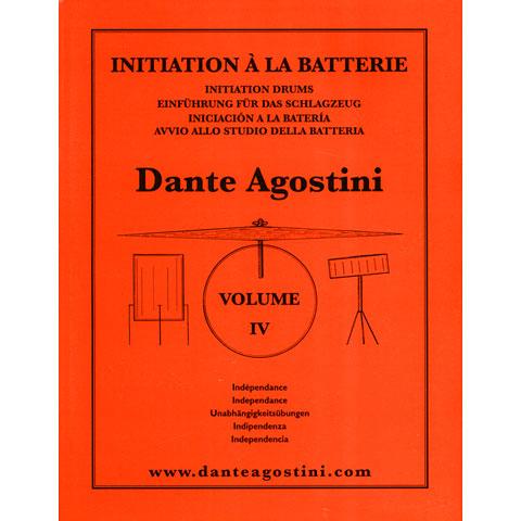 Lehrbuch Dante Agostini Methode de Batterie Vol. 4 - Independance
