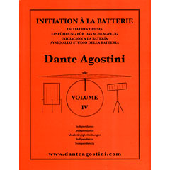Agostini Methode de Batterie Vol.4 - Independance « Libros didácticos