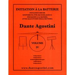 Dante Agostini Methode de Batterie Vol. 4 - Independance « Leerboek
