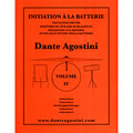 Agostini Methode de Batterie Vol.4 - Independance « Manuel pédagogique