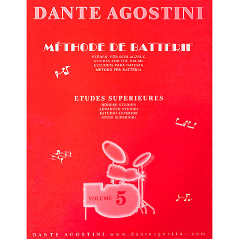 Lehrbuch Agostini Methode de Batterie Vol.5 - Etudes Suplement