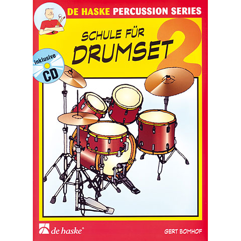 Lehrbuch De Haske Schule für Drumset 2
