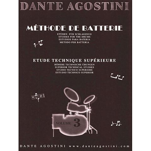Lehrbuch Dante Agostini Methode de Batterie Vol. 3 - Technique Suplement