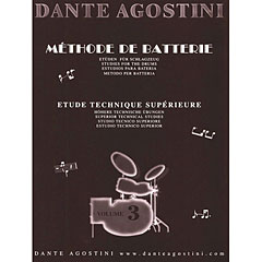 Agostini Methode de Batterie Vol.3 - Technique Suplement « Instructional Book
