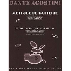 Dante Agostini Methode de Batterie Vol. 3 - Technique Suplement « Leerboek