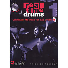 De Haske Real Time Drums 1 - Grundlagentechnik für das Drumset « Instructional Book