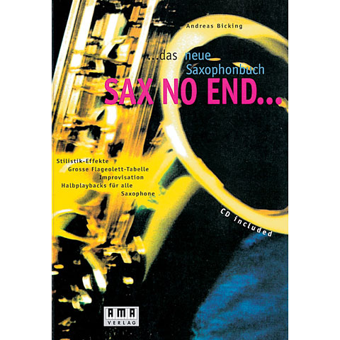 Lehrbuch AMA Sax No End
