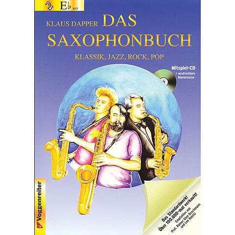 Libros didácticos Voggenreiter Das Saxophonbuch Eb (Alt- und Baritonsaxophon)