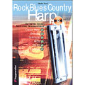 Instructional Book Voggenreiter Rock Blues Country Harp