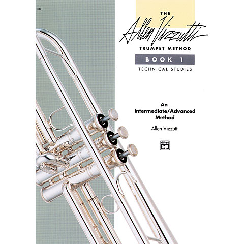 Instructional Book Alfred KDM Allen Vizzutti Trumpet Method Bd.1 - Technical Studies