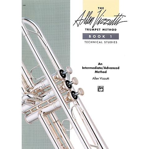 Manuel pédagogique Alfred KDM Allen Vizzutti Trumpet Method Bd.1 - Technical Studies