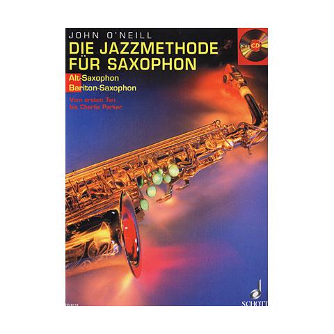 Libros didácticos Schott Die Jazzmethode für Saxophon 1