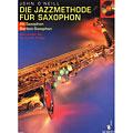 Lektionsböcker Schott Die Jazzmethode für Saxophon 1