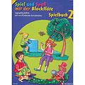 Μυσικές σημειώσεις Schott Spiel und Spaß mit der Blockflöte Spielbuch 2