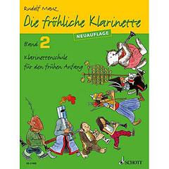 Schott Die fröhliche Klarinette Bd.2 « Libros didácticos