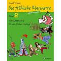Учебное пособие  Schott Die fröhliche Klarinette Bd.2