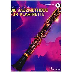 Schott Die Jazzmethode für Klarinette « Instructional Book