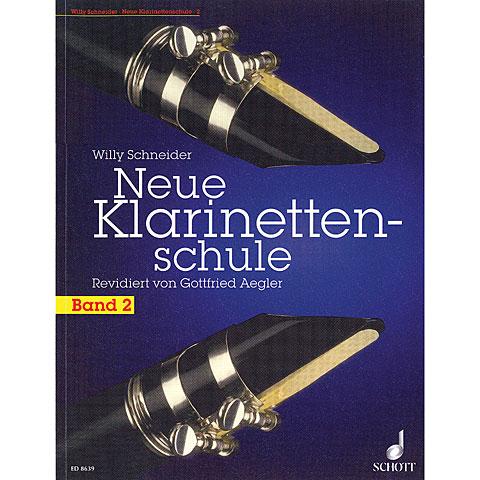 Lehrbuch Schott Neue Klarinettenschule Bd.2