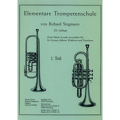 Stegmann Elementare Trompetenschule 1