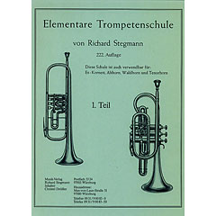 Richard Stegmann Musikverlag Elementare Trompetenschule 1. Teil « Instructional Book