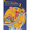 Lektionsböcker Schott Spiel und Spaß mit der Blockflöte Schule Bd.2
