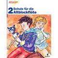 Libros didácticos Schott Spiel und Spaß mit der Blockflöte Schule für die Altblockflöte 2