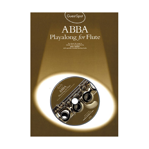 Music Sales ABBA - Playalong for Flute