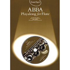Music Sales ABBA - Playalong for Flute « Play-Along