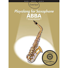 Music Sales ABBA - Playalong for Saxophone « Play-Along